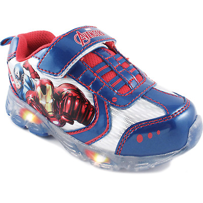 Avengers Assemble Age of Ultron Toddler Slip On Sneakers Shoes Marvel Brand New