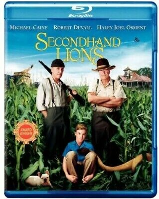 Secondhand Lions -- Blu-ray Disc + Cover Art Only — **No Original Case***