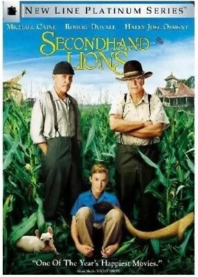 Secondhand Lions DVD — (**DISC ONLY**) — **NOT IN ORIGINAL CASE**