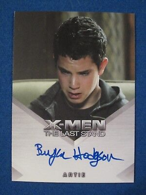 Cayden Boyd As Young Angel 2006 X Men The Last Stand Card Auto