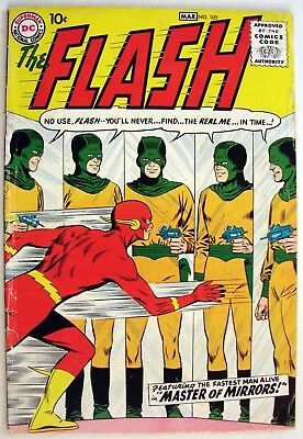 Flash, The  Vol. 1 #105   The Master of Mirrors - DC  - Comics