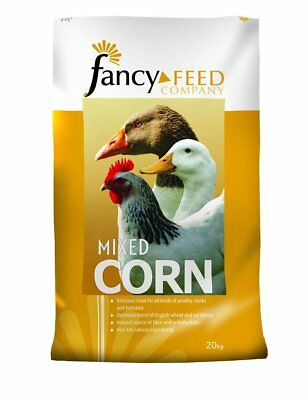 Fancy Feeds Mixed Corn Poultry Duck Geese Wildfowl Bantam Chicken Hen Food 20kg