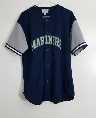 detailed look 18cc8 a459a new arrivals seattle mariners navy jersey dbd23 01125