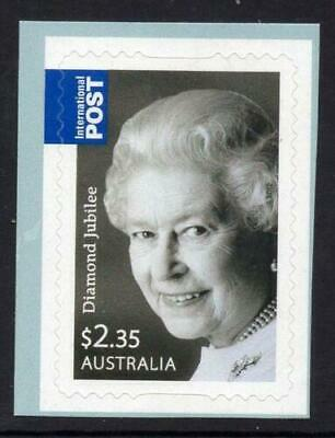 2012 Australian Stamps - Queens Birthday Diamond Jubilee - MNH P&S Single