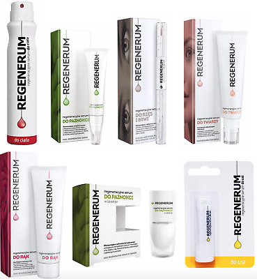 REGENERUM Regenerating Serum for Lashes Lips Nails Heels Hands CHOOSE FROM LIST