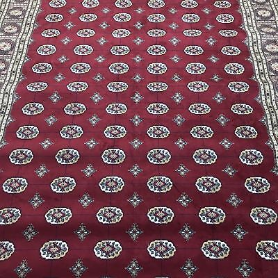 Vintage Faux Silk Area Rug Made in Belgium Persian Isphahan Style 160X230 cm