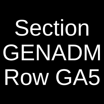 2 Tickets Killswitch Engage & Parkway Drive 4/26/19 Dallas, TX