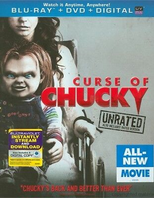 Curse of Chucky (Blu-ray/DVD, 2013, 2-Disc Set, Unrated, Includes Digital Copy)