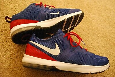 Men's New York Giants Nike RoyalRed Air Max Typha 2 Shoes