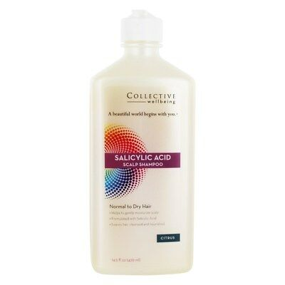 Collective Wellbeing - Salicylic Acid Scalp Shampoo for Normal to Dry Hair