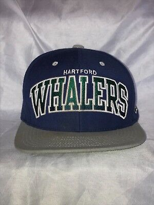 OFFICIALLY LICENSED MITCHELL And Ness Hartford Whalers NHL SnapBack ... db566d0c9