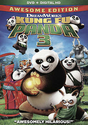 Kung Fu Panda 3 (Awesome Edition) DVD + Digital HD BRAND NEW FACTORY SEALED