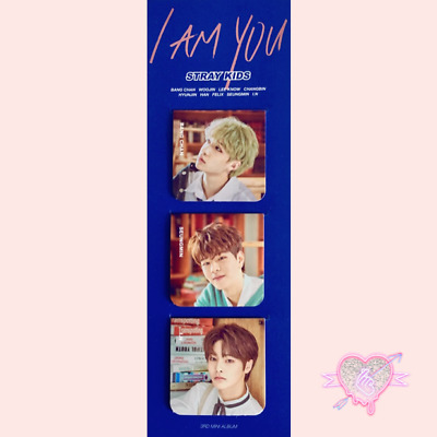 STRAY KIDS  UNVEIL REVIEW  OFF MAGNETIC BOOKMARK Select 1 Version FREE shipping!