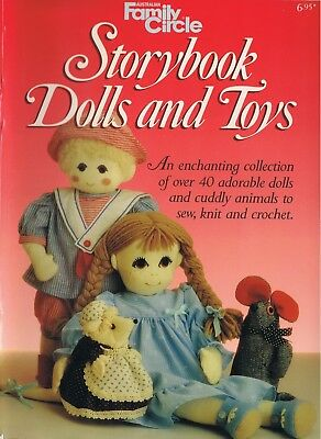 Storybook Dolls and Toys - 40+ patterns - sewing, knitting, crocheting