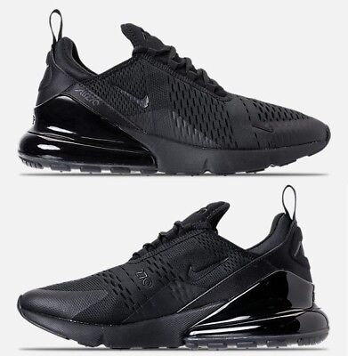 AIR MAX NIKE 270 Uomo Casual Triple Nere Originale Nuove in Scatola ... be478dfc7a2