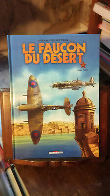 LE FAUCON DU DESERT  ZUMSTEIN   lot tomes 1 2 3 TOUS en EO aviation armée