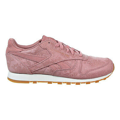 info for 76b94 4e4d3 Reebok Classic Leather Clean Exotics Women s Shoes Sandy Rose Chalk Gum  BS8226