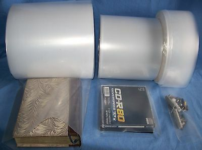 """Poly Layflat Tubing Clear, 200 & 400 Guage,widths 2""""-8"""", Lengths 1 -30 Meters"""