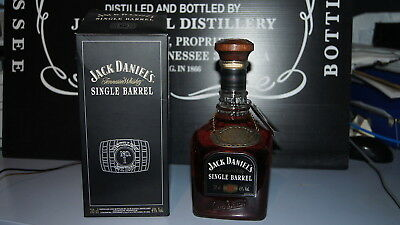 JACK DANIELS SINGLE BARREL 45 % 70 cl FROM UK SELECTED BY JIMMY BEDFORD