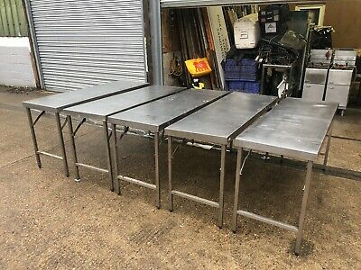 Vogue Stainless Folding Table