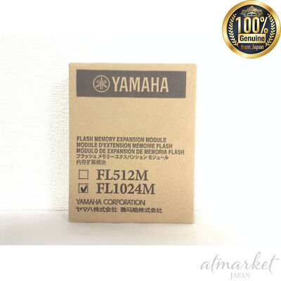YAMAHA FL1024M Flash Memory Expansion Module for MOTIF XF New F/S from Japan