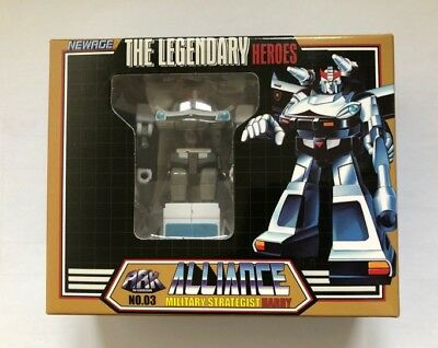 NewAge Toys Transformers Mini Warrior Heroes 03 H3 Harry Prowl Figure In Stock