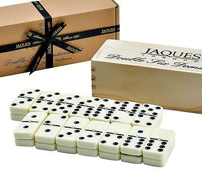 Dominoes Set - Jaques Domino Child And Adults Game - Double Six Dominos Set Club