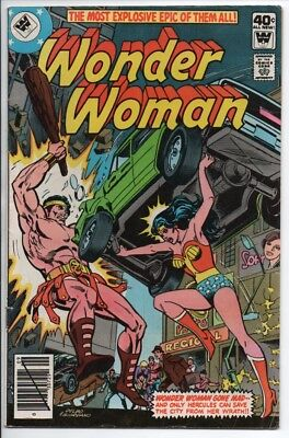 DC Comics Wonder Woman #259 $40c cover priced Whitman Variant VF- 1979