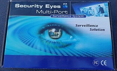 Security Eyes multiport 16 Channel CCTV card PCI