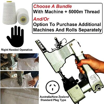 Professional Handheld Bag Closing Machine Sack Stitch Seal Packing Sealing Tool