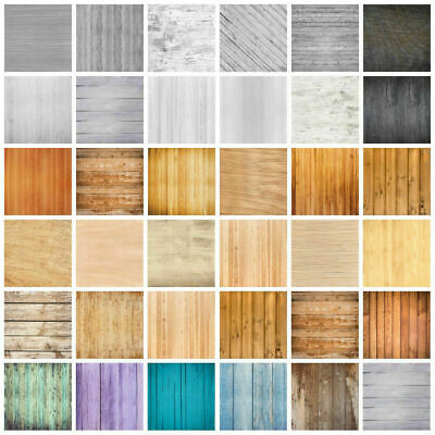 Retro Wood Plank Studio Wall Photography Backdrop Photo Prop Background 3/5/7ft