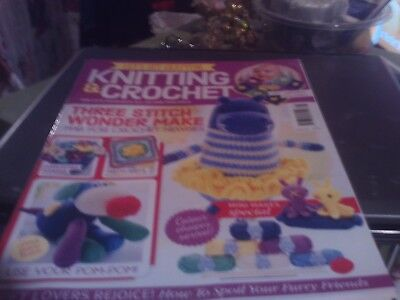 Knitting And Crochet Magazine Issue 78 With Toys To Knit And Crochet See Picture
