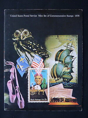 United States. Year Pack Folder. All Commemorative Stamp Issues. 1978.
