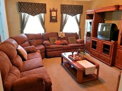 FORMAL LIVING ROOM Set - Sectional Reclining Sofa ...