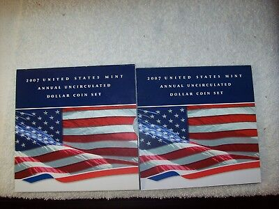 2007 Annual Uncirculated Dollar Coin Set