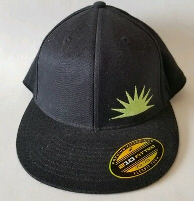 GREEN FLASH BREWING Company Craft Beer Fitted Hat Stretch Alpine ... 9cf68170b23