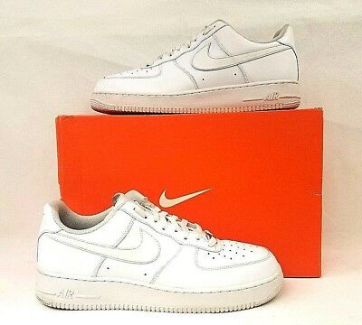 5b78f65ce653 Nike Air Force 1 One Low Top All Triple White 315122-111 AF1 Size 13