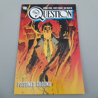 The Question Vol. 2: Poisoned Ground, Cowan, Denys,O'Neil, Dennis
