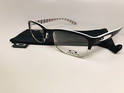 ac99193db6 New Oakley OX1062-0152 Black Peppermint IRREVERENT Eyeglasses 52mm with Bag