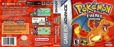 Nintendo GBA Replacement Case Pokémon Fire Red
