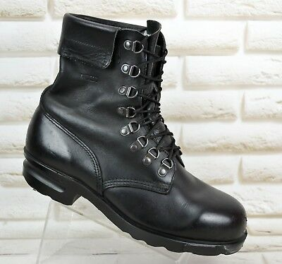 c2f2f38a ALFA PDMT Womens Black Leather Hiking Outdoor Ankle Boots Size 6 UK 39 EU
