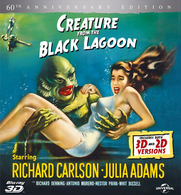 Creature From The Black Lagoon 3D+2D Blu-Ray