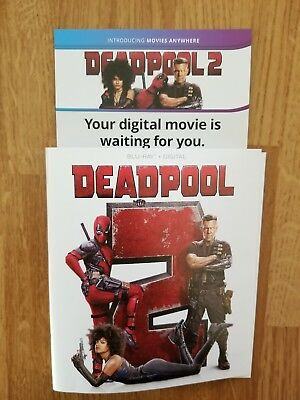 Deadpool 2 (Digital Code Only, NO DISCS OR CASE) free shipping