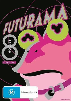 Futurama : Season 8 (DVD, 2013, 2-Disc Set), New, Australian Release