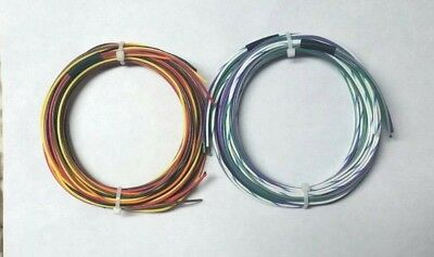20 AWG Mil-Spec Wire (PTFE)  Stranded Silver Plated Copper, Wire Kit 50 ft