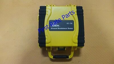 Ideal Industries 61-796 Earth Ground Resistance Tester ESD Meter 2 3 Point Fall