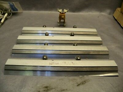 """MPM Speedline Accuflex 13 3/4"""" Blade Assembly lot of 4 mixed used"""