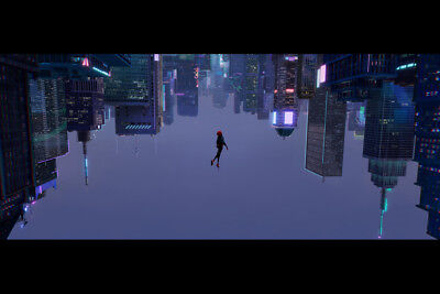 """Spider-man Spider-verse 36"""" x 24"""" Large Wall Poster Print Comic Decor Movie"""