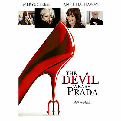 The Devil Wears Prada (DVD, Widescreen) - Disc and Cover Artwork