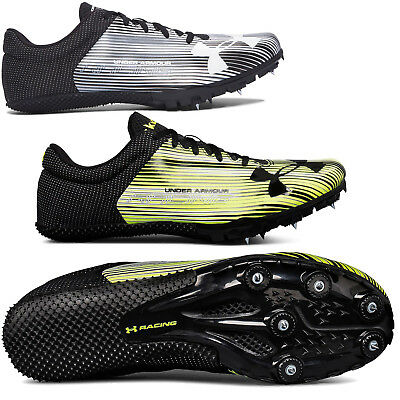 7ee4436ba95d New Under Armour UA Kick Sprint Mens Track & Field Spikes Sprinting Shoes